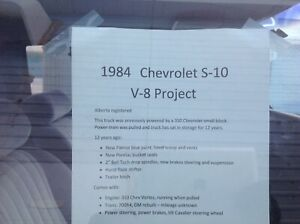 V8 S10 Project