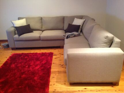 6 Seater Large Sofa Revesby Bankstown Area Preview