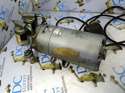 Gast Nuarc Eh8 Vacuum Pump W 16 Hp Motor
