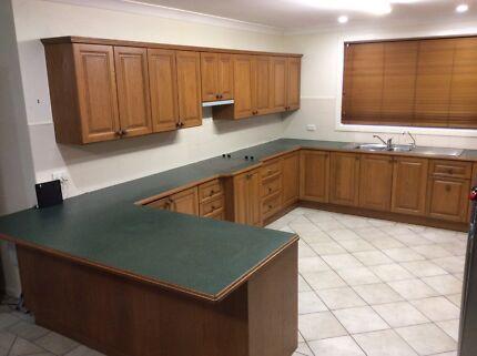 Solid timber kitchen-Tasmanian Oak