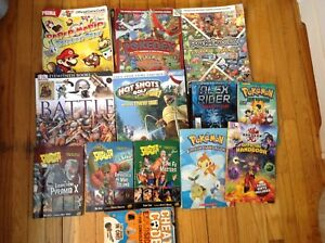 Lot of kids books, gaming etc
