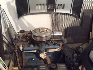 1955 Ford 6 cylinder motor with transmission