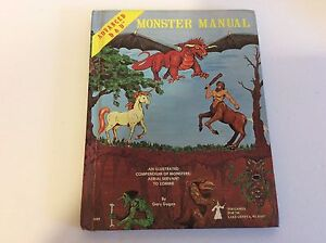 Set of 3 Vintage Advanced Dungeons and Dragons Books
