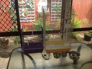 2 birdcages Rothwell Redcliffe Area Preview