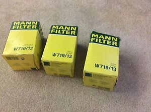 Mann filters 3 oil filters new  vintage car accessories