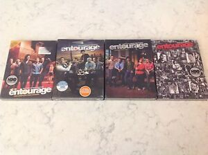 Entourage DVD box sets seasons 1 to 3 still in wrapper