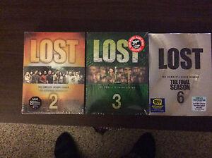 Lost season 2,3,6 still in box