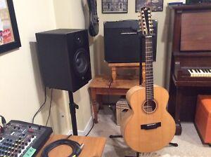 12 string Bedell accoustic guitar model Jb-52-12