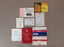 HJ Monaro GTS owners log books. Rosenthal Motors GMH Nasco Burwood Burwood Area Preview