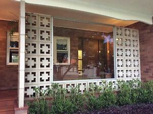 Large glass window with besser breeze blocks Hurstville Hurstville Area Preview