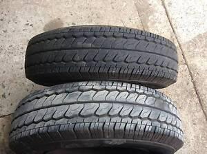 Toyota hilux wheels rim & tyre 185R14C very good tread light comm Mount Druitt Blacktown Area Preview