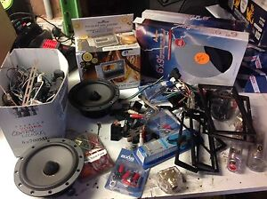 Mixed lot of car audio accessories Seven Hills Blacktown Area Preview