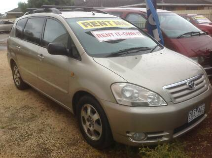 2002 Toyota Avensis 7 seats OR rent for $210pw