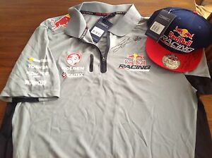 Red Bull Racing shirt and cap The Entrance North Wyong Area Preview