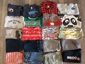 2T winter clothing boys toddler pants shirts and sweaters