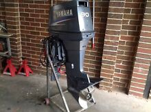 Outboard motor 90 hp yamaha 2 stroke 2004 model Seabrook Hobsons Bay Area Preview