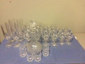 Crystal Glasses Evanston Gawler Area Preview