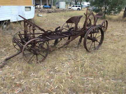 Vintage antique farming iron PLOUGH Bracken Ridge Brisbane North East Preview