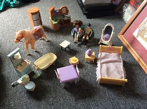 Fisher price loving family dolls and furniture Snug Kingborough Area Preview
