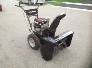 Murray  11.5 Ft-lbs. torque. X  27 inches wide auger snow blower