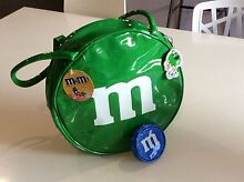 Shimmering Green Color M&M Bag and Blue Coin Purse Thornlie Gosnells Area Preview