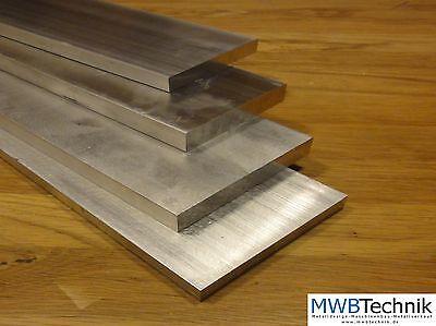 Alu Aluminium Flachstange 80 x 20 mm EN AW 2007 AlCuMgPb Flachstab Flachmaterial