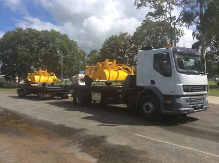 Tilt Tray Container Transport to/from Hervey Bay/Bundaberg Area