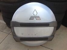Mitsubishi Pajero Plastic Spare Wheel Cover Clontarf Redcliffe Area Preview