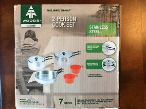 Woods 2 person camping cook set