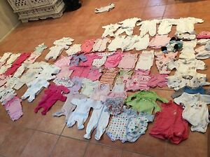 Baby clothes, 95 pieces new born and premmy Ormiston Redland Area Preview