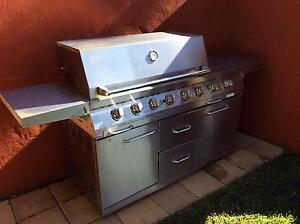 6 Burner Stainless Steel BBQ Bedfordale Armadale Area Preview
