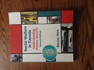 Social Welfare in Canada. UWO textbook. $45 OBO