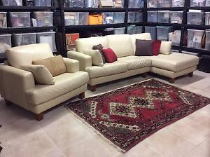 Lounge 2.5 seater with single chair Huntleys Cove Hunters Hill Area Preview