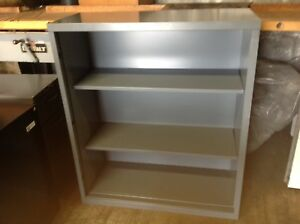 Metal bookcases