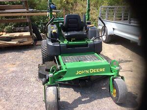 John Deere Z997 diesel zero turn mower.