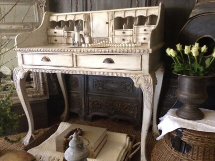 "SOLD P P/U..""To Kill A Mockingbird!!""  French Vintage Desk Butler Wanneroo Area Preview"