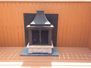 Fireplace for patio