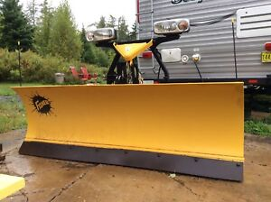 7.5 foot Fisher Minute Mount plow- like new! $4,500