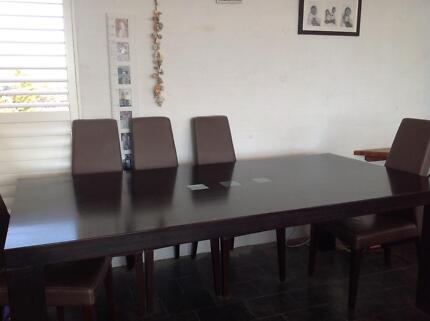Beautiful African Dining Table - price reduced Warriewood Pittwater Area Preview