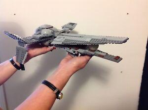 Star Wars Lego Spaceships $160.00