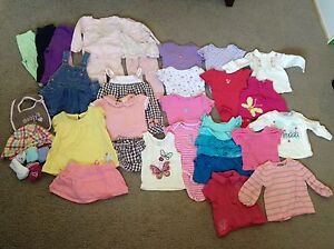 6-12 month summer girl clothing