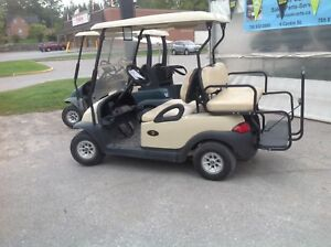 Golf cart gas