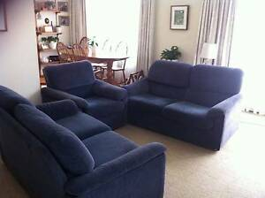 3 Piece Parker Lounge Suite Spotswood Hobsons Bay Area Preview