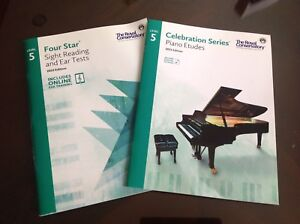 Royal Conservatory RCM Piano Books, level 5, 2015 edition