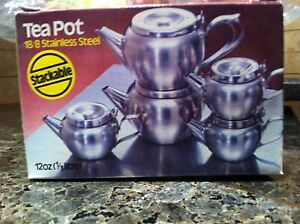 Brand new industrial teapots