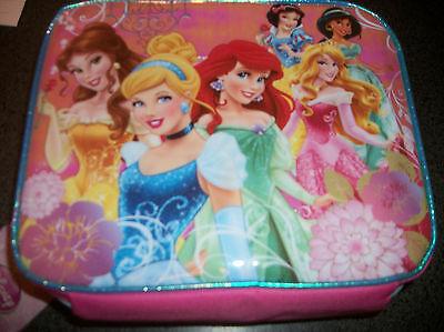 Disney Princess  Lunch box Belle Ariel Jasmin Cinderella   N