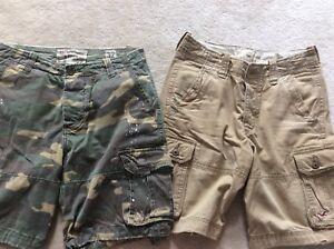Abercrombie/Hollister cotton shorts