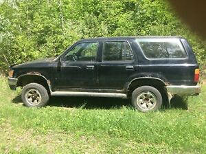 """1992 Toyota 4Runner """"NEEDS A MOTOR"""" 22re/auto/ 4wd"""