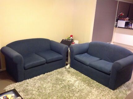 2 seater sofas(two)
