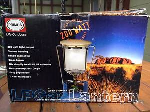 Primus LP Gas Lantern and Primus pole extension Howrah Clarence Area Preview